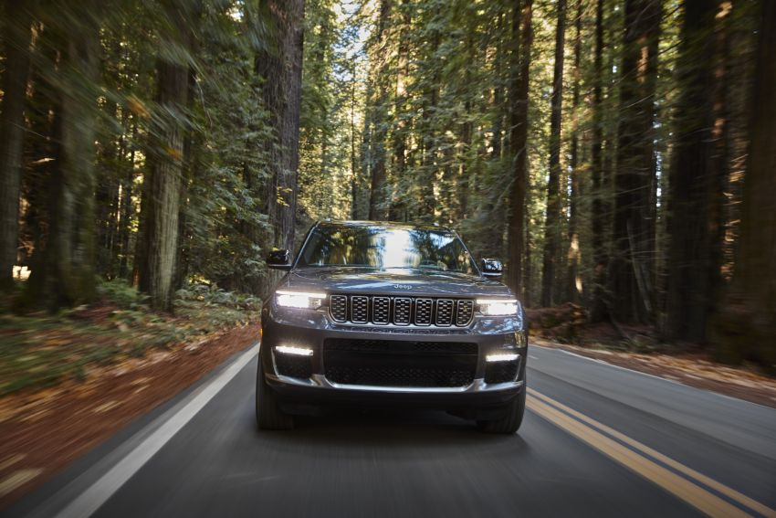 Fifth-generation Jeep Grand Cherokee – L version brings three rows of seats; 4xe PHEV due end 2021 Image #1232499