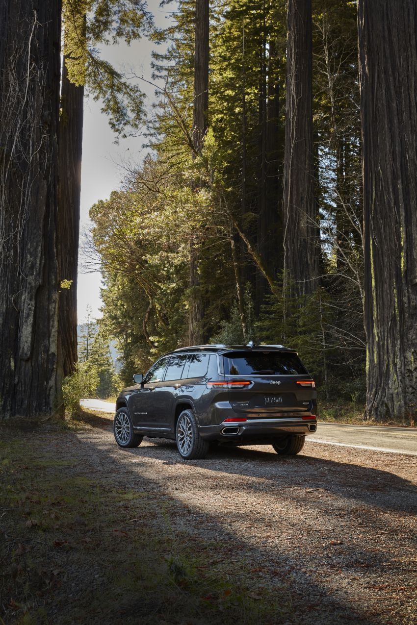 Fifth-generation Jeep Grand Cherokee – L version brings three rows of seats; 4xe PHEV due end 2021 Image #1232501