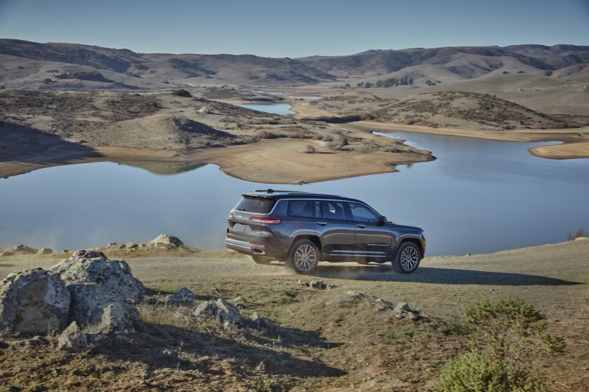 Fifth-generation Jeep Grand Cherokee – L version brings three rows of seats; 4xe PHEV due end 2021 Image #1232505