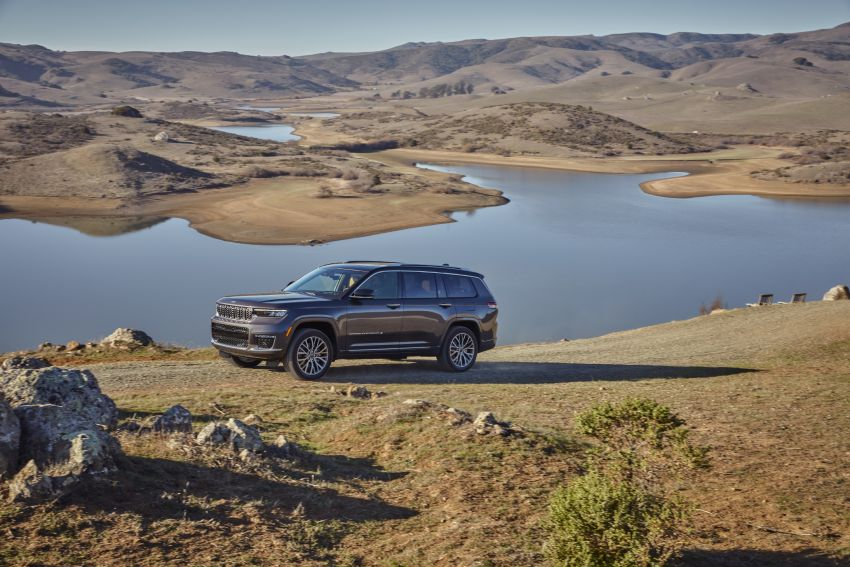 Fifth-generation Jeep Grand Cherokee – L version brings three rows of seats; 4xe PHEV due end 2021 Image #1232506
