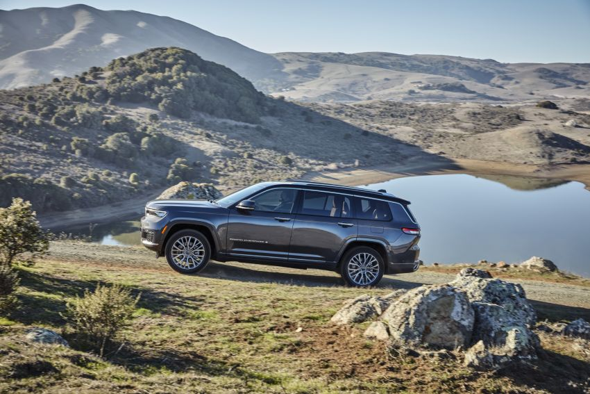 Fifth-generation Jeep Grand Cherokee – L version brings three rows of seats; 4xe PHEV due end 2021 Image #1232507