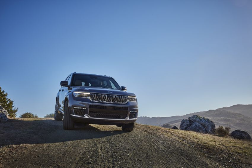 Fifth-generation Jeep Grand Cherokee – L version brings three rows of seats; 4xe PHEV due end 2021 Image #1232508