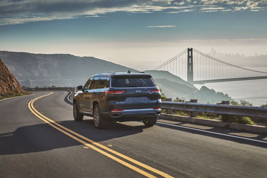 Fifth-generation Jeep Grand Cherokee – L version brings three rows of seats; 4xe PHEV due end 2021 Image #1232517