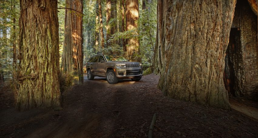 Fifth-generation Jeep Grand Cherokee – L version brings three rows of seats; 4xe PHEV due end 2021 Image #1232519