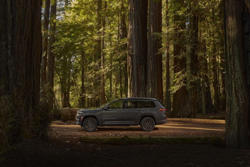 Fifth-generation Jeep Grand Cherokee – L version brings three rows of seats; 4xe PHEV due end 2021 Image #1232520