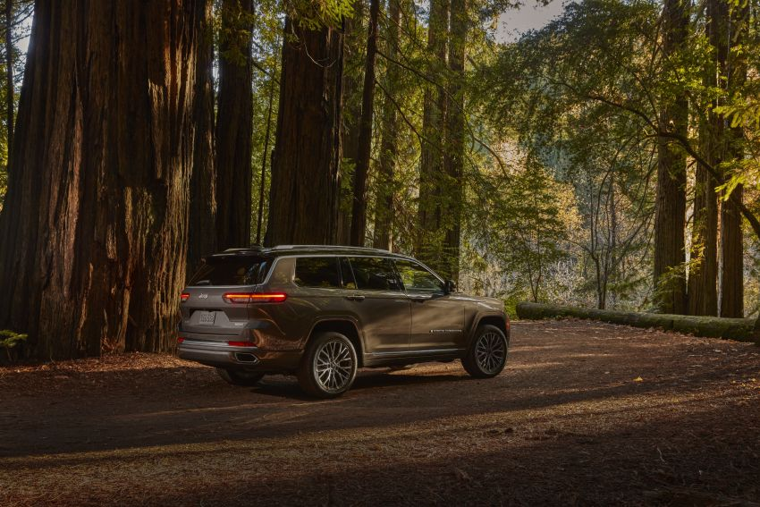 Fifth-generation Jeep Grand Cherokee – L version brings three rows of seats; 4xe PHEV due end 2021 Image #1232521