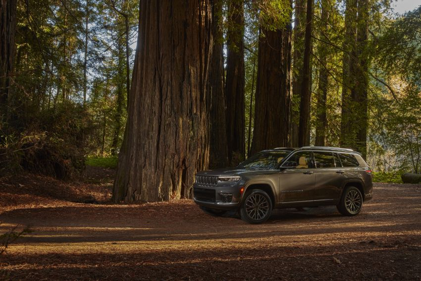 Fifth-generation Jeep Grand Cherokee – L version brings three rows of seats; 4xe PHEV due end 2021 Image #1232522