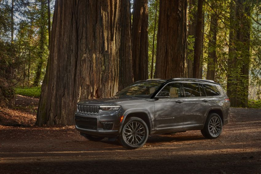 Fifth-generation Jeep Grand Cherokee – L version brings three rows of seats; 4xe PHEV due end 2021 Image #1232523