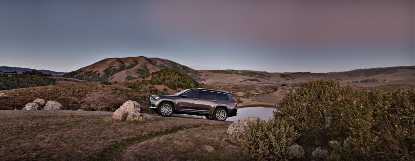 Fifth-generation Jeep Grand Cherokee – L version brings three rows of seats; 4xe PHEV due end 2021 Image #1232524