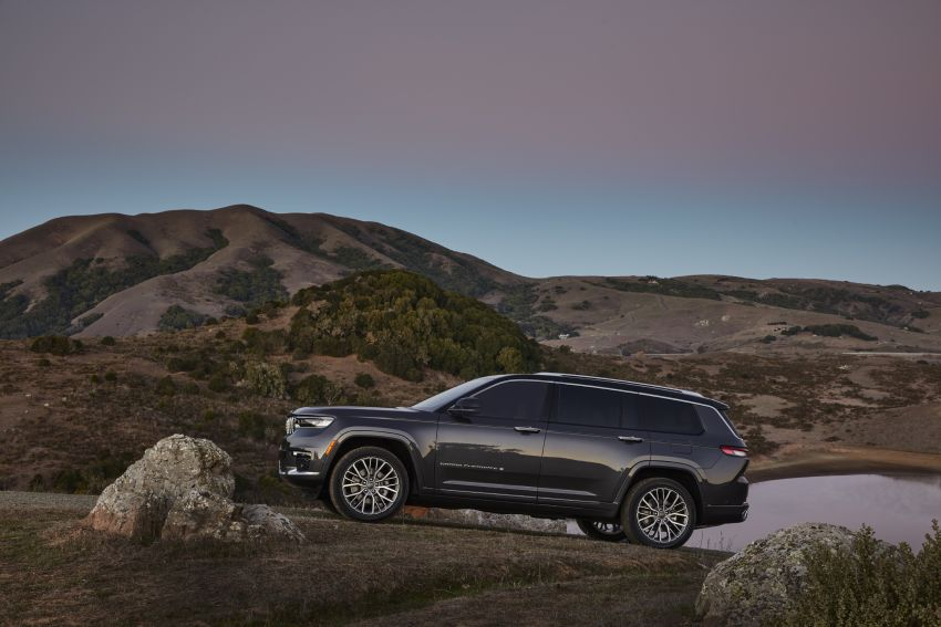 Fifth-generation Jeep Grand Cherokee – L version brings three rows of seats; 4xe PHEV due end 2021 Image #1232525