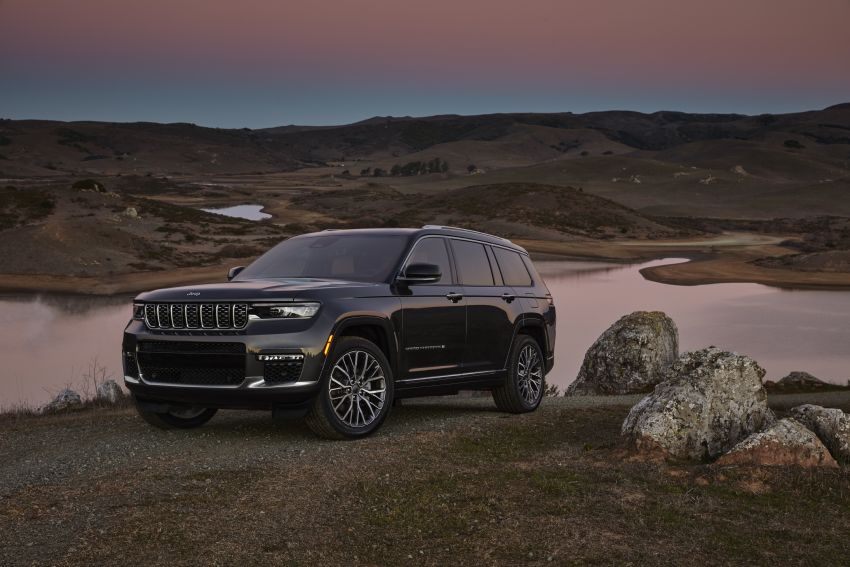 Fifth-generation Jeep Grand Cherokee – L version brings three rows of seats; 4xe PHEV due end 2021 Image #1232526