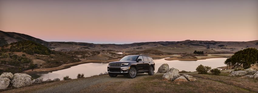 Fifth-generation Jeep Grand Cherokee – L version brings three rows of seats; 4xe PHEV due end 2021 Image #1232527