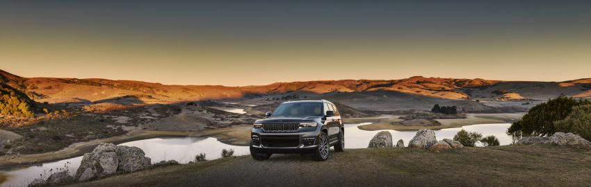Fifth-generation Jeep Grand Cherokee – L version brings three rows of seats; 4xe PHEV due end 2021 Image #1232529