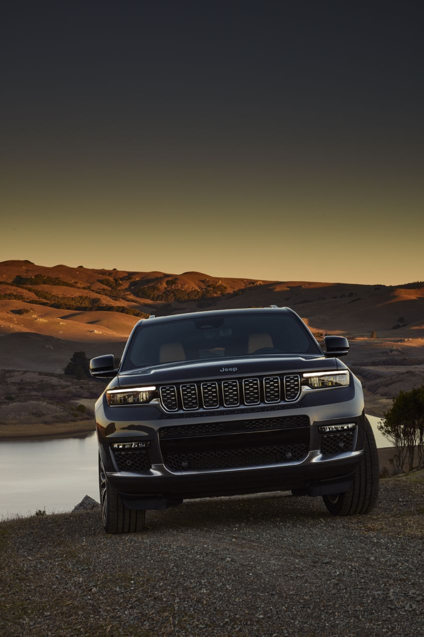 Fifth-generation Jeep Grand Cherokee – L version brings three rows of seats; 4xe PHEV due end 2021 Image #1232530