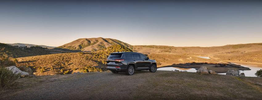 Fifth-generation Jeep Grand Cherokee – L version brings three rows of seats; 4xe PHEV due end 2021 Image #1232531