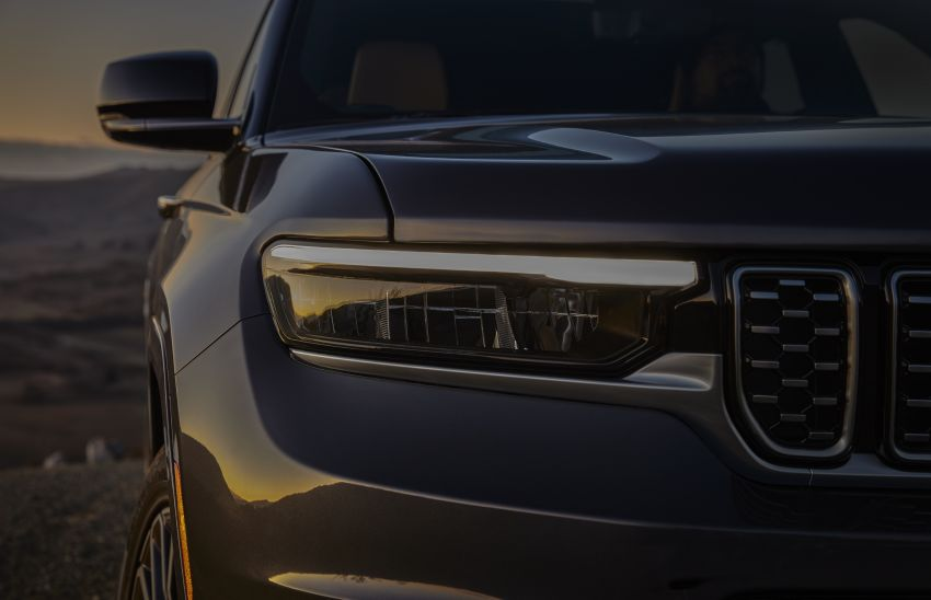 Fifth-generation Jeep Grand Cherokee – L version brings three rows of seats; 4xe PHEV due end 2021 Image #1232534