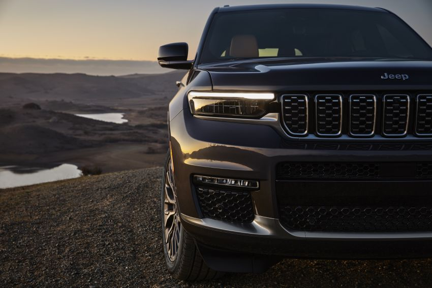 Fifth-generation Jeep Grand Cherokee – L version brings three rows of seats; 4xe PHEV due end 2021 Image #1232535