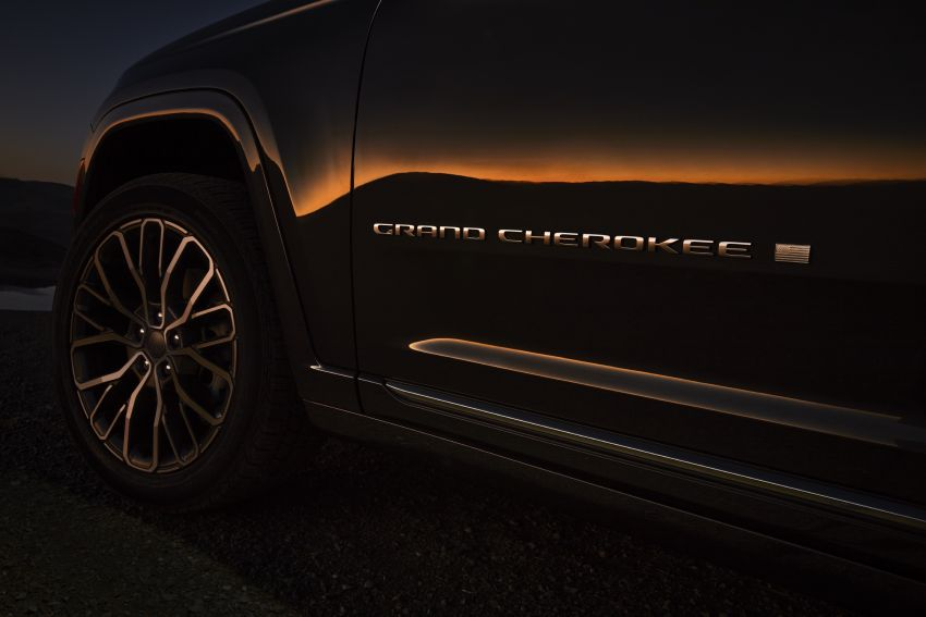 Fifth-generation Jeep Grand Cherokee – L version brings three rows of seats; 4xe PHEV due end 2021 Image #1232538