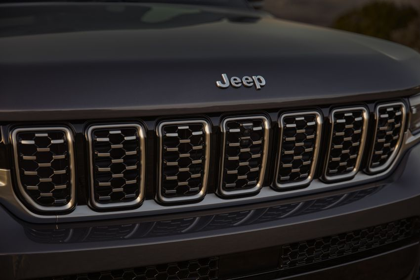 Fifth-generation Jeep Grand Cherokee – L version brings three rows of seats; 4xe PHEV due end 2021 Image #1232543