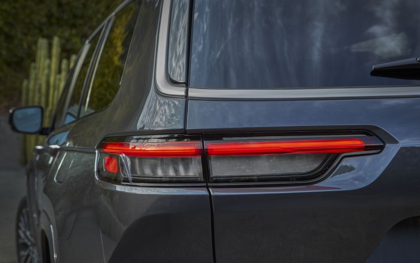 Fifth-generation Jeep Grand Cherokee – L version brings three rows of seats; 4xe PHEV due end 2021 Image #1232544