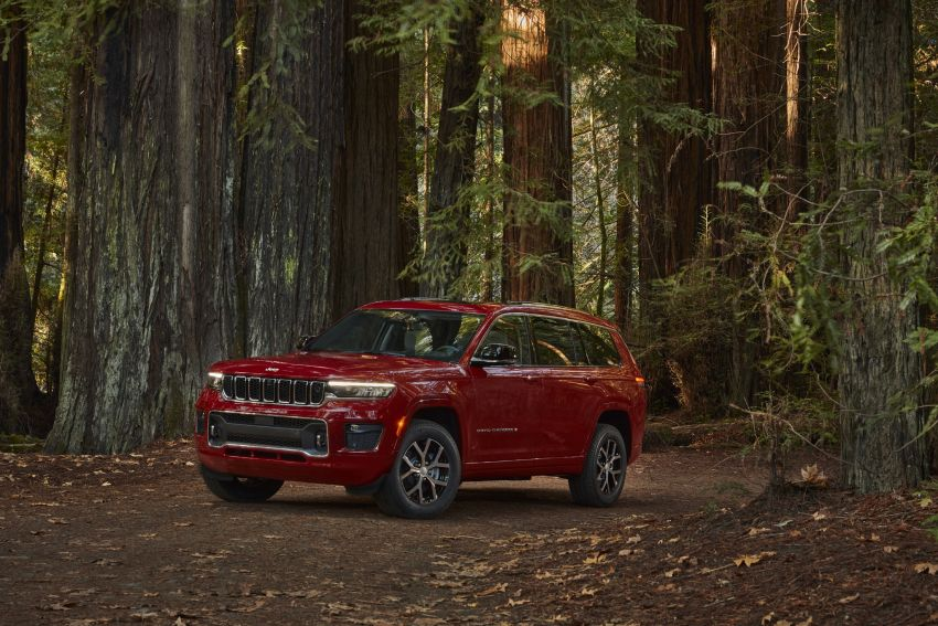 Fifth-generation Jeep Grand Cherokee – L version brings three rows of seats; 4xe PHEV due end 2021 Image #1232548