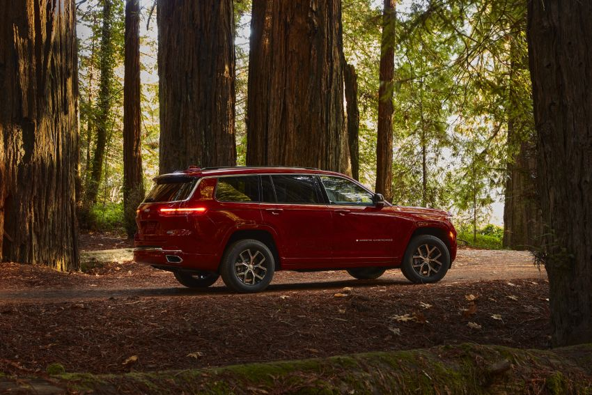 Fifth-generation Jeep Grand Cherokee – L version brings three rows of seats; 4xe PHEV due end 2021 Image #1232552
