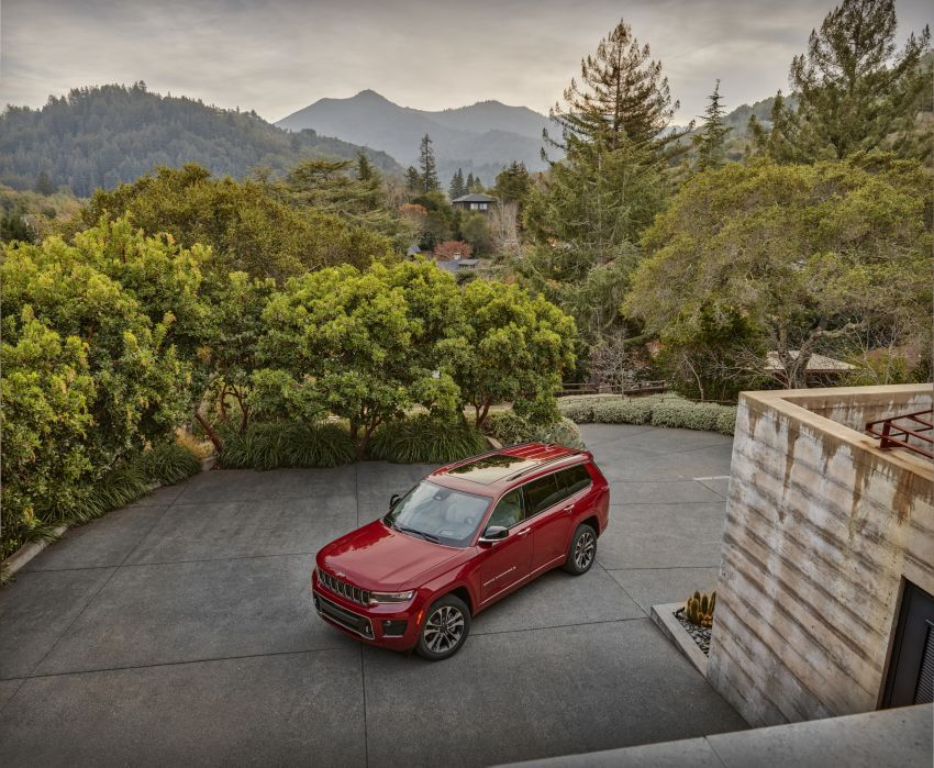 Fifth-generation Jeep Grand Cherokee – L version brings three rows of seats; 4xe PHEV due end 2021 Image #1232553