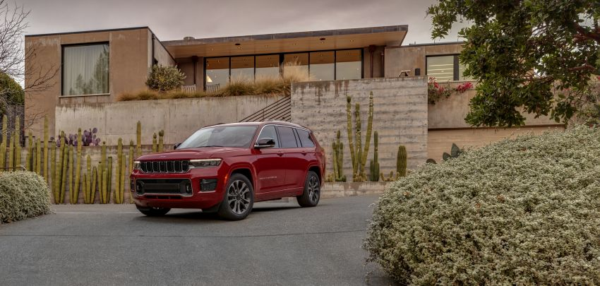 Fifth-generation Jeep Grand Cherokee – L version brings three rows of seats; 4xe PHEV due end 2021 Image #1232554
