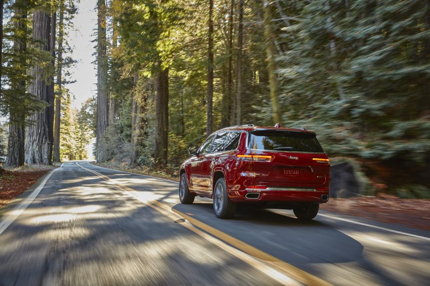 Fifth-generation Jeep Grand Cherokee – L version brings three rows of seats; 4xe PHEV due end 2021 Image #1232555