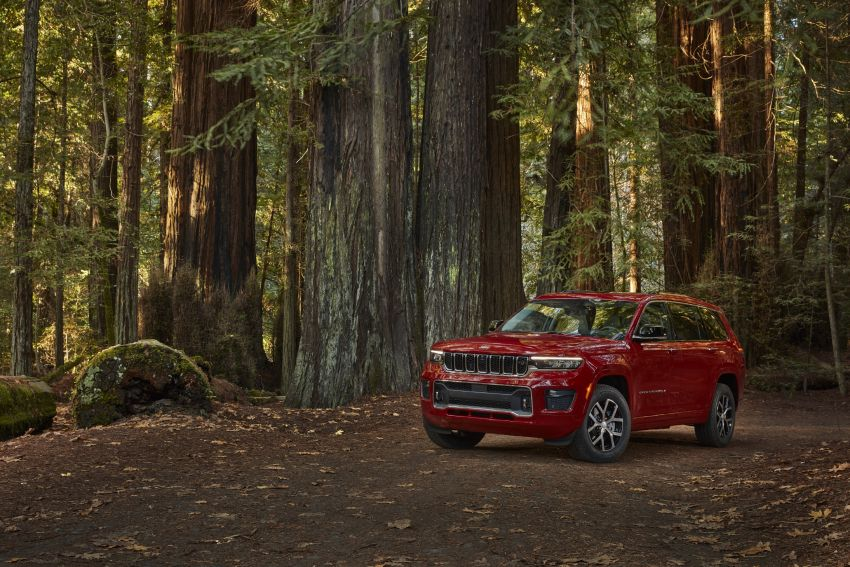 Fifth-generation Jeep Grand Cherokee – L version brings three rows of seats; 4xe PHEV due end 2021 Image #1232557