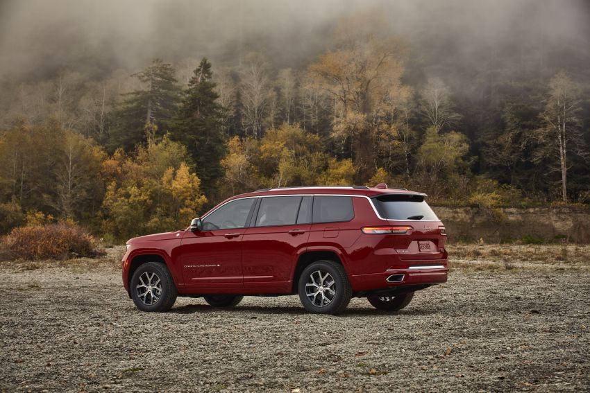Fifth-generation Jeep Grand Cherokee – L version brings three rows of seats; 4xe PHEV due end 2021 Image #1232558