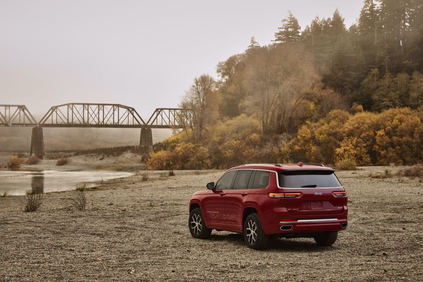 Fifth-generation Jeep Grand Cherokee – L version brings three rows of seats; 4xe PHEV due end 2021 Image #1232559