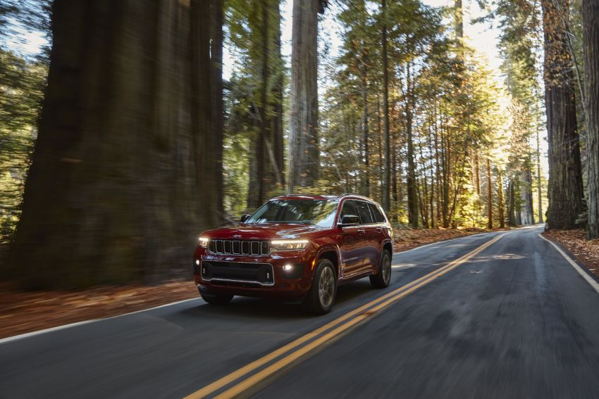 Fifth-generation Jeep Grand Cherokee – L version brings three rows of seats; 4xe PHEV due end 2021 Image #1232562