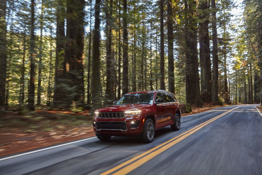 Fifth-generation Jeep Grand Cherokee – L version brings three rows of seats; 4xe PHEV due end 2021 Image #1232564