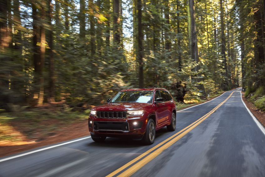 Fifth-generation Jeep Grand Cherokee – L version brings three rows of seats; 4xe PHEV due end 2021 Image #1232565