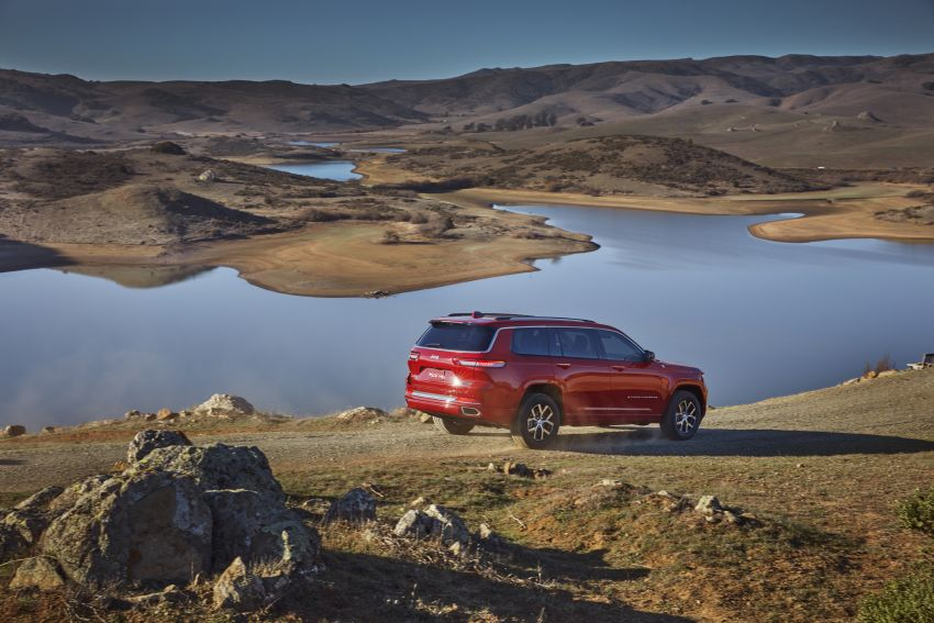 Fifth-generation Jeep Grand Cherokee – L version brings three rows of seats; 4xe PHEV due end 2021 Image #1232566