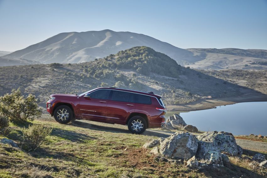 Fifth-generation Jeep Grand Cherokee – L version brings three rows of seats; 4xe PHEV due end 2021 Image #1232567