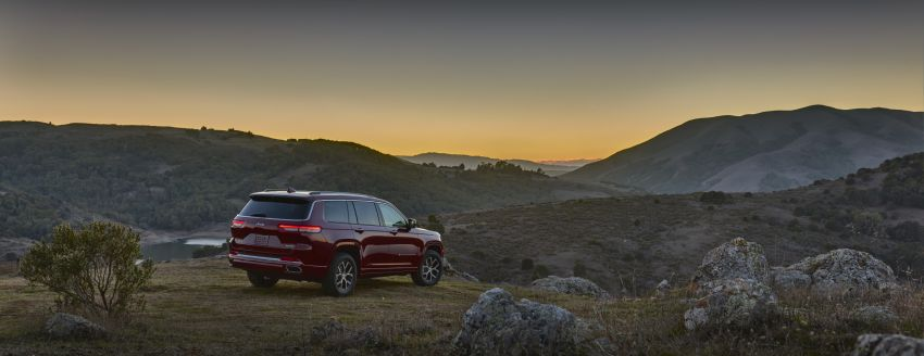 Fifth-generation Jeep Grand Cherokee – L version brings three rows of seats; 4xe PHEV due end 2021 Image #1232569