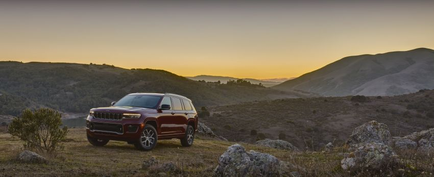 Fifth-generation Jeep Grand Cherokee – L version brings three rows of seats; 4xe PHEV due end 2021 Image #1232570