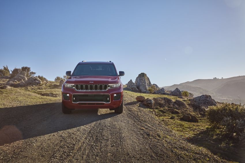 Fifth-generation Jeep Grand Cherokee – L version brings three rows of seats; 4xe PHEV due end 2021 Image #1232572