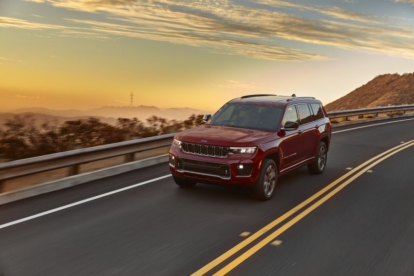 Fifth-generation Jeep Grand Cherokee – L version brings three rows of seats; 4xe PHEV due end 2021 Image #1232582