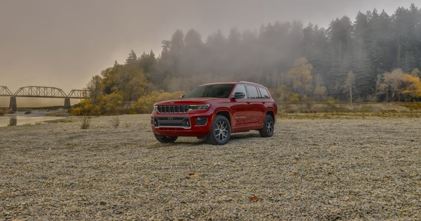 Fifth-generation Jeep Grand Cherokee – L version brings three rows of seats; 4xe PHEV due end 2021 Image #1232587