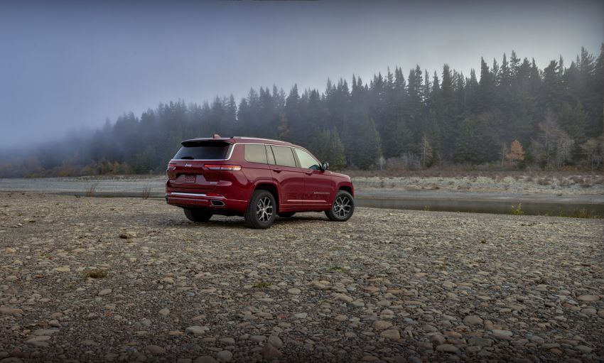 Fifth-generation Jeep Grand Cherokee – L version brings three rows of seats; 4xe PHEV due end 2021 Image #1232588