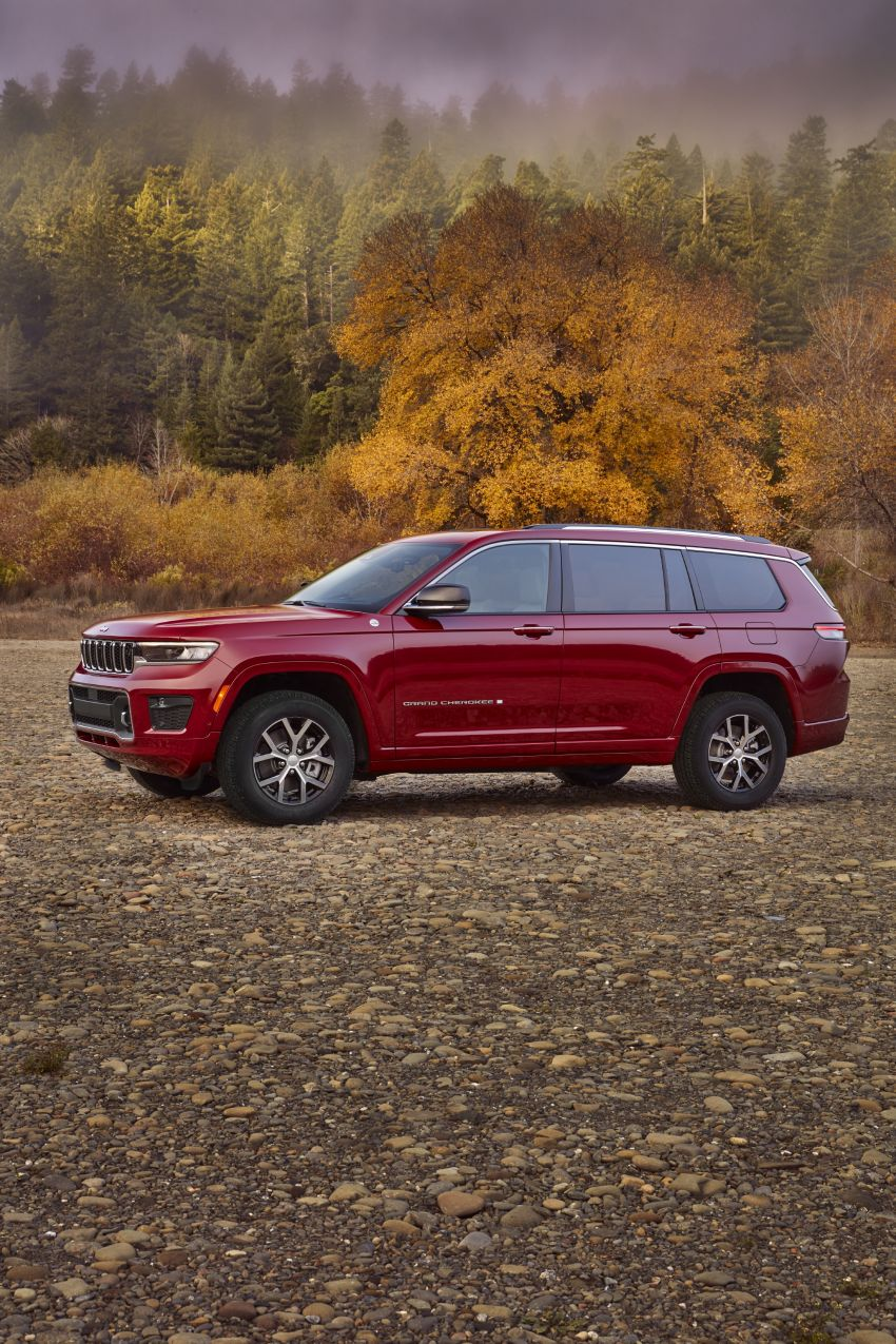 Fifth-generation Jeep Grand Cherokee – L version brings three rows of seats; 4xe PHEV due end 2021 Image #1232589