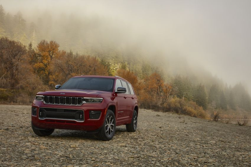 Fifth-generation Jeep Grand Cherokee – L version brings three rows of seats; 4xe PHEV due end 2021 Image #1232590