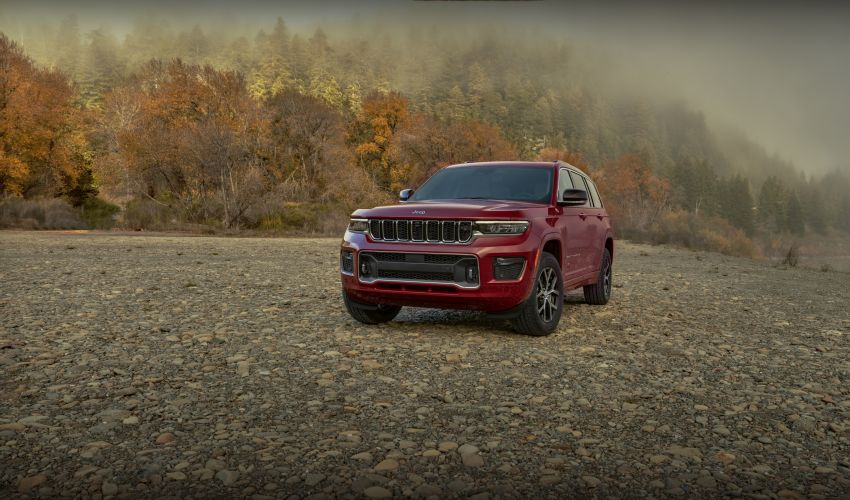 Fifth-generation Jeep Grand Cherokee – L version brings three rows of seats; 4xe PHEV due end 2021 Image #1232591