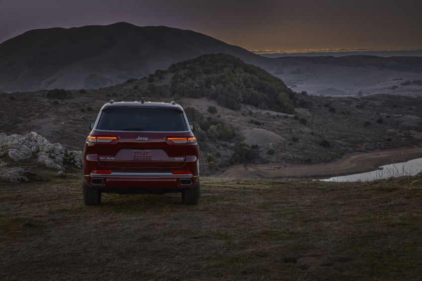 Fifth-generation Jeep Grand Cherokee – L version brings three rows of seats; 4xe PHEV due end 2021 Image #1232592