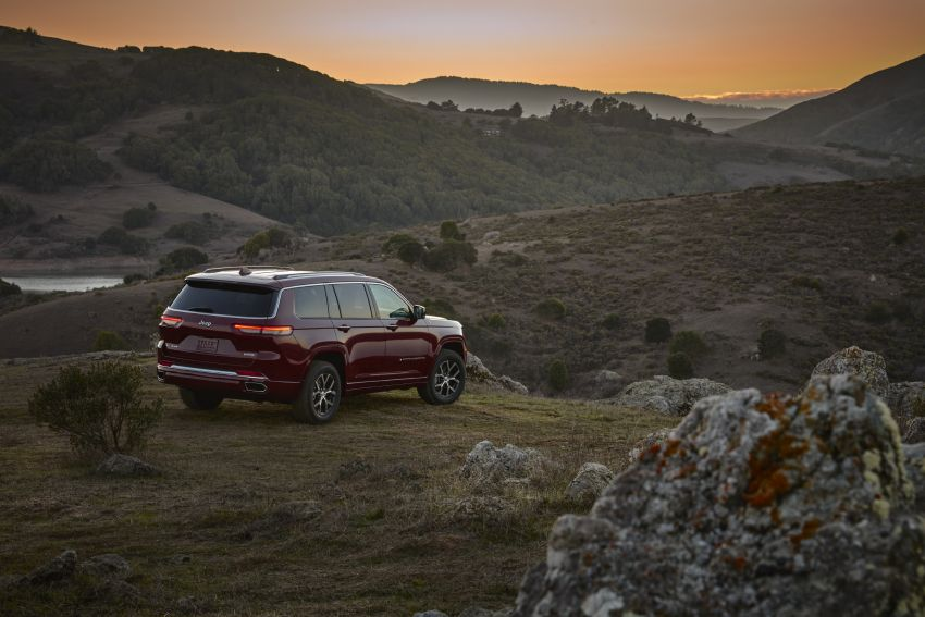 Fifth-generation Jeep Grand Cherokee – L version brings three rows of seats; 4xe PHEV due end 2021 Image #1232593