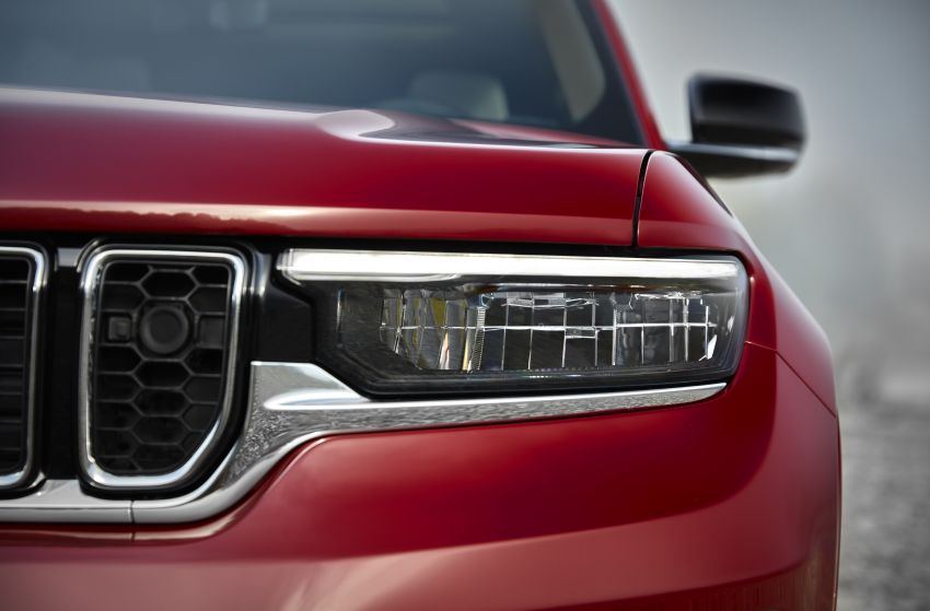 Fifth-generation Jeep Grand Cherokee – L version brings three rows of seats; 4xe PHEV due end 2021 Image #1232601