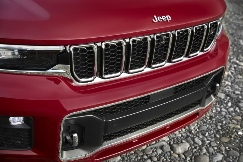 Fifth-generation Jeep Grand Cherokee – L version brings three rows of seats; 4xe PHEV due end 2021 Image #1232603